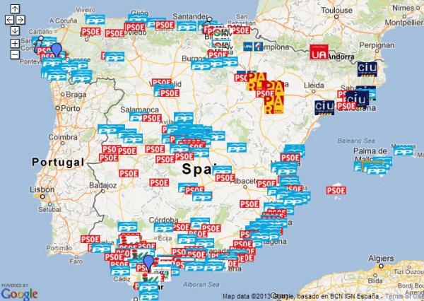 Spain Corruption Chart