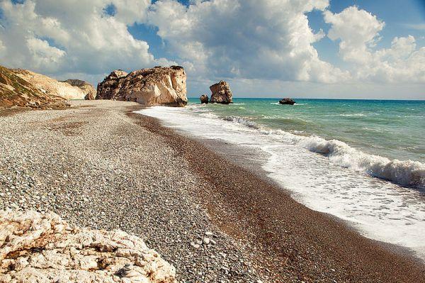 Cyprus Petra tou romiou beach