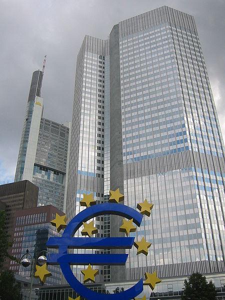 ECB with Euro Symbol