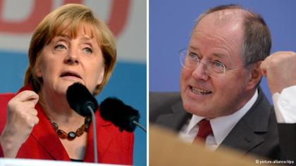 Merkel and Steinbrueck